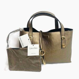 Calvin Klein Reversible 2 in 1 Signature Handbag